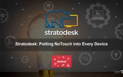 Stratodesk: Putting NoTouch into Every Device