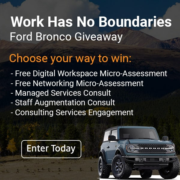 XenTegra Work Has No Boundaries Ford Bronco Giveaway