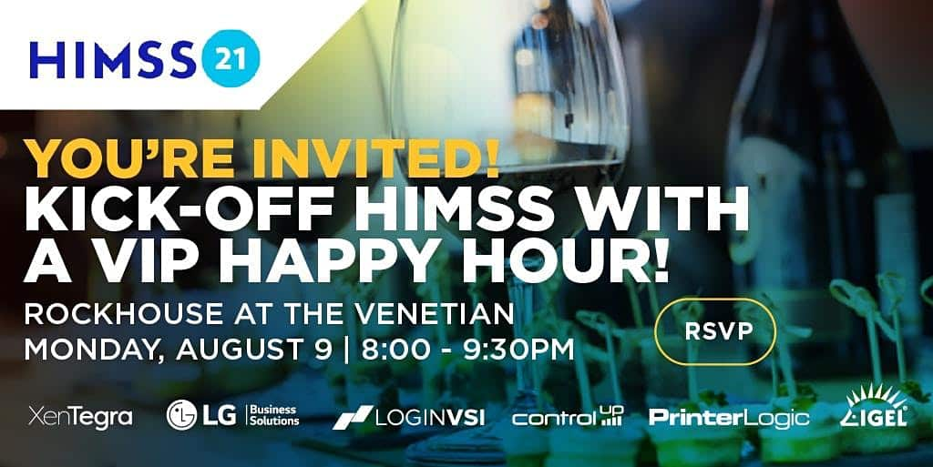 HIMSS VIP Happy Hour at Rockhouse @ The Venetian